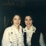 Roxanne Charette with Shania Twain